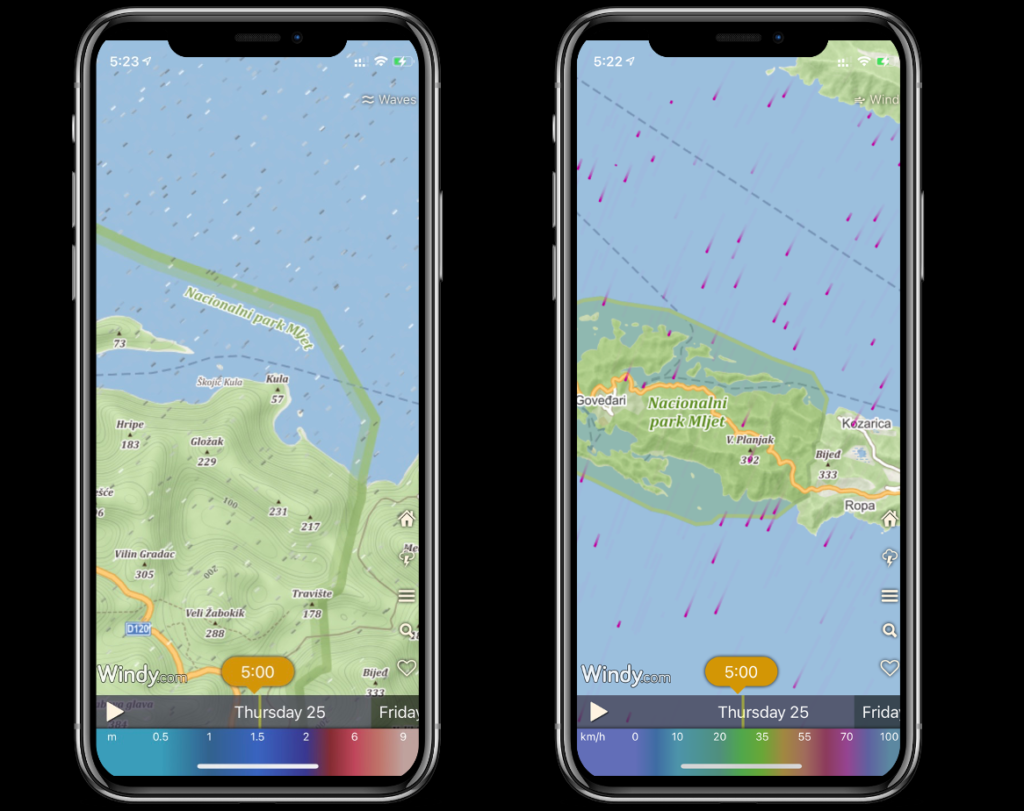 The Charter App Weather-Map