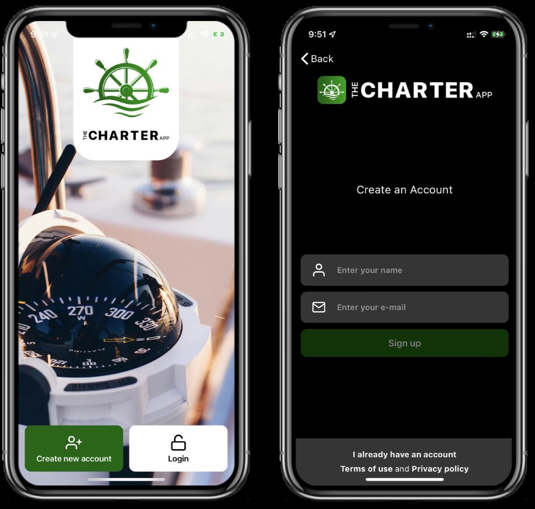 Login-The Charter App